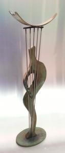 Orpheus brons 2016 H 45 cm